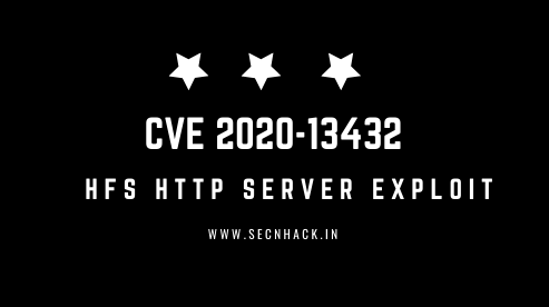 Exploit HFS Http File Server 2.3m Build 300 – Buffer Overflow (PoC)