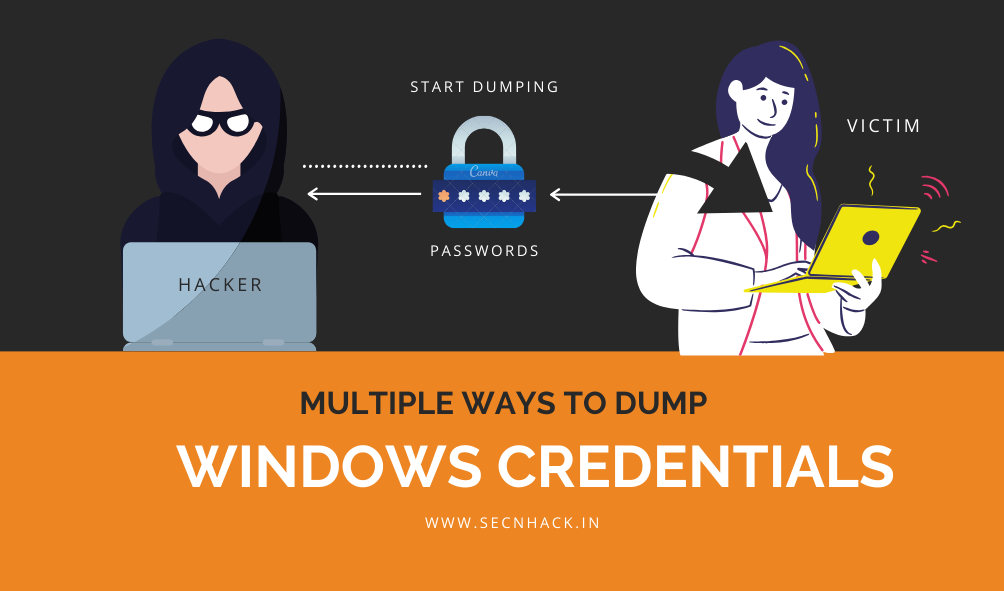 Multiple Ways to Dump Windows Credentials