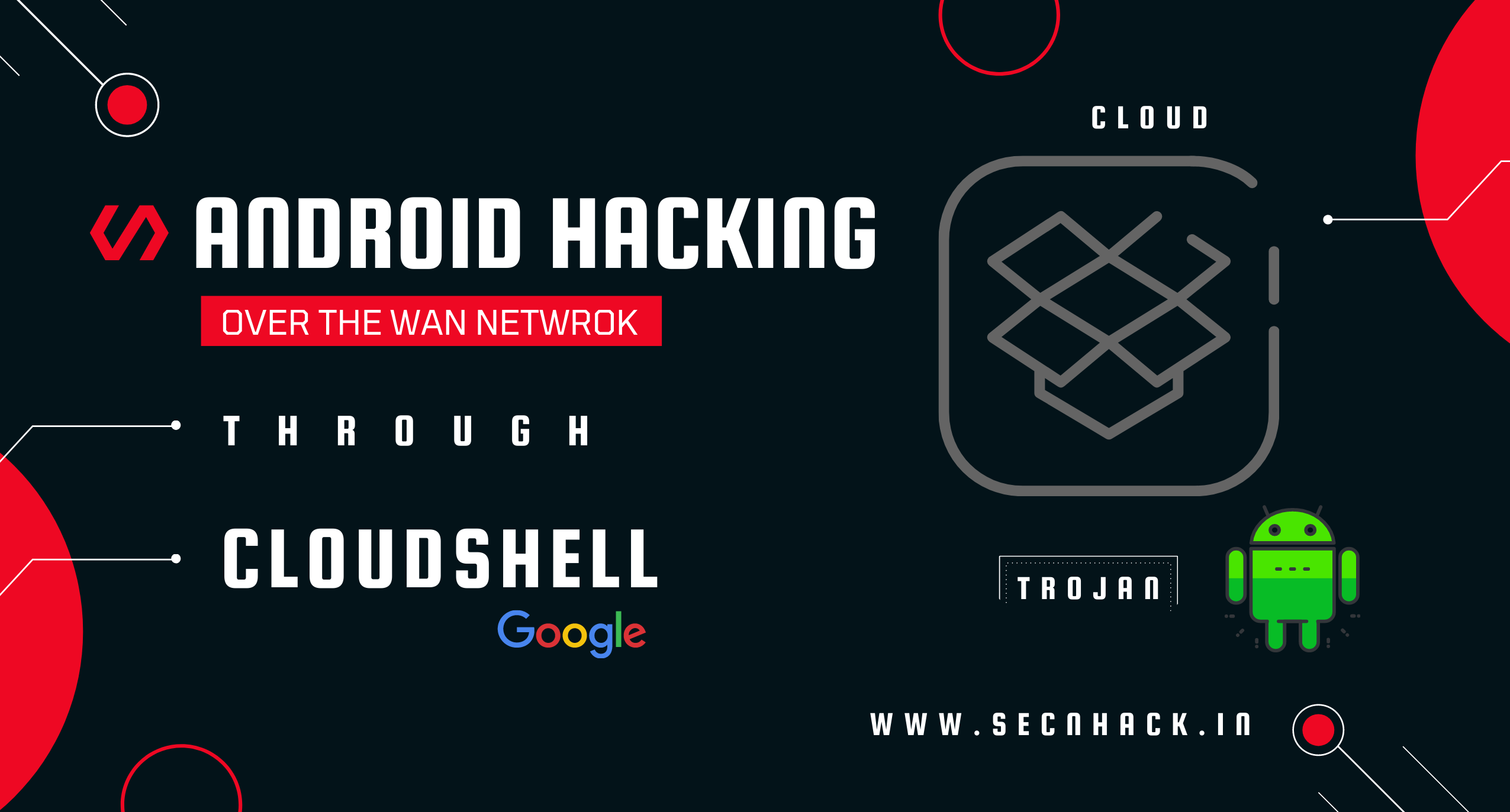 Mobile Platform Hacking  (WAN) Through Google Cloud Shell
