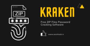 Kraken – Free ZIP Files Password Cracking Software