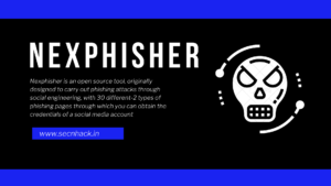Nexphisher – A Advance Phishing Tool