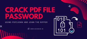 How to Crack PDF File Password using John the Ripper