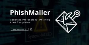 PhishMailer – Generate Professional Phishing Alert Templates