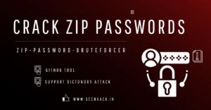 How To Crack ZIP Files Password