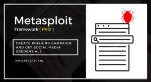 Metasploit Pro – Create Phishing Campaign and Get Social Media Credentials