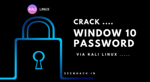 How to Crack Windows 10 Password Step by Step