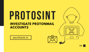 ProtOSINT –  Investigate Protonmail Accounts