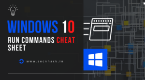 Windows 10 Run Commands Cheat Sheet