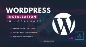 WordPress Installation in Localhost