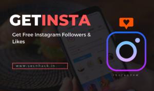 GetInsta – Get Free Instagram Followers & Likes