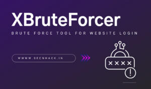 XBruteForcer – Brute Force Tool for Website Login