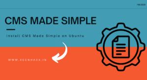 Install CMS Made Simple on Ubuntu