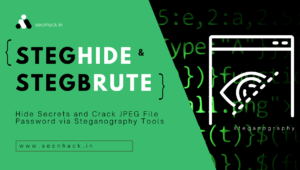 Hide Secrets and Crack JPEG File Password via Steganography Tools