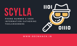 Scylla – Phone Number & User Information Gathering Tool