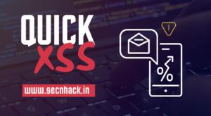 QuickXSS – True Automated XSS Vulnerability Finder